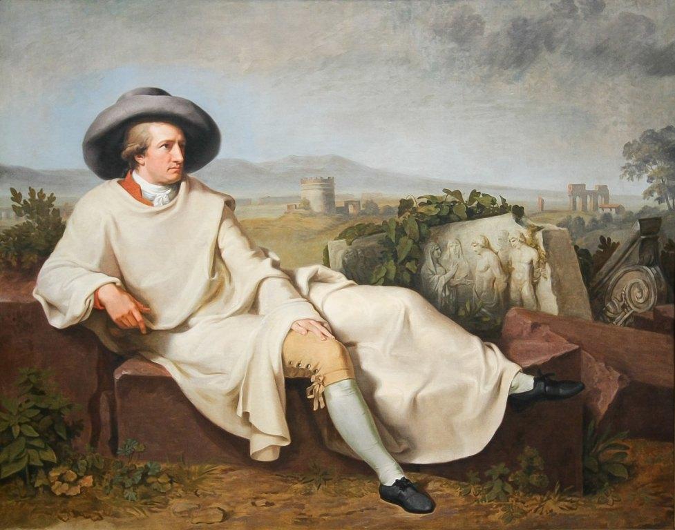 Goethe ritratto da Wilhelm Tischbein