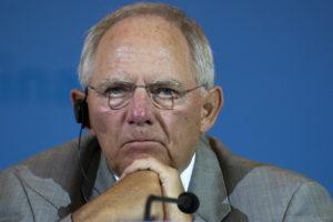 Wolfgang Schäuble © Emilio Esbardo per il Deutsch-Italia
