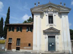 La chiesa di Quo vadis © CC BY-SA 3.0 LPLT
