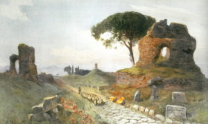 Ettore Roesler Franz - Appia antica