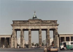 La porta di Brandeburgo 1990 © il Deutsch-Italia