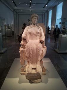 La dea del trono - Altes Museum