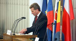 Günther Oettinger © CC BY-SA 2.0 Michał Koziczyński