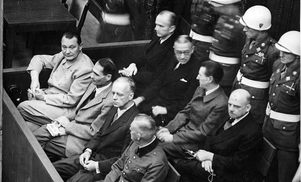 Gli imputati durante il processo