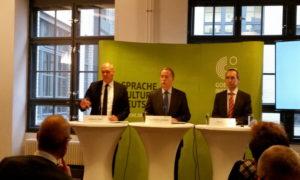 La presentazione del programma del Goethe Institut Berlins © il Deutsch-Italia