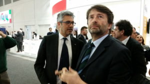 Dario Franceschini all'ITB di Berlino © il Deutsch-Italia