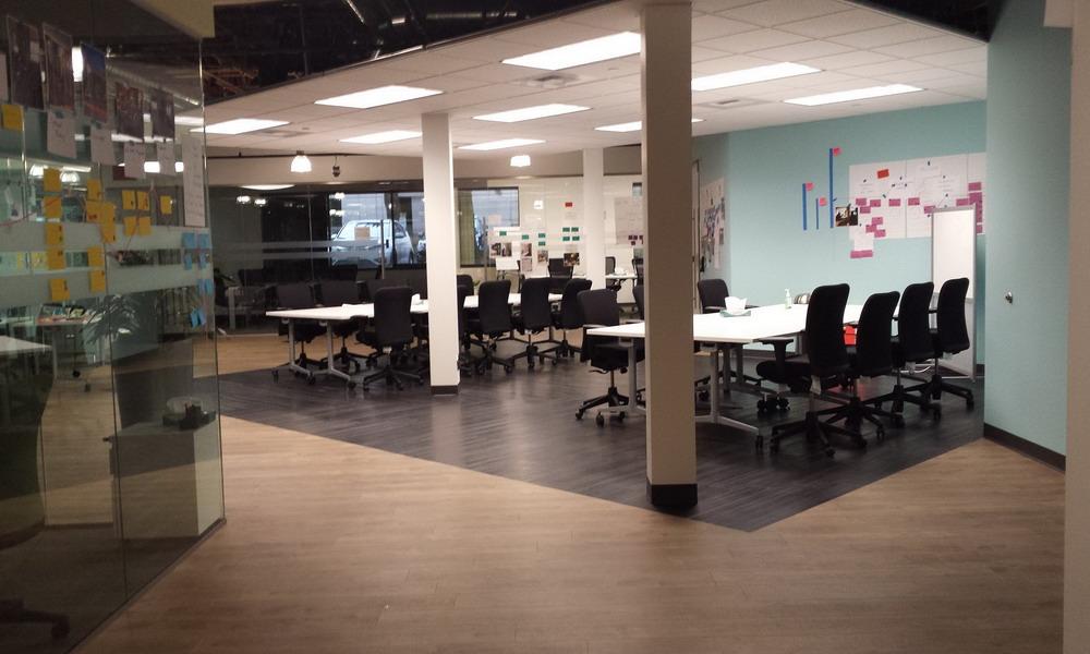 Idee Ufficio Open Space : Kamos pure una collezione per gli uffici open space giorni fa