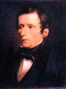 Giacomo Leopardi in un dipinto di Morelli