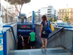 Metro B a Roma