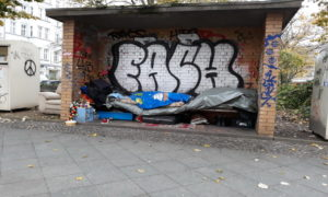 Senza tetto© il Deutsch-Italia