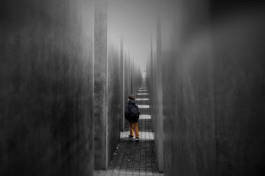 Il memoriale dell'Olocausto a Berlino