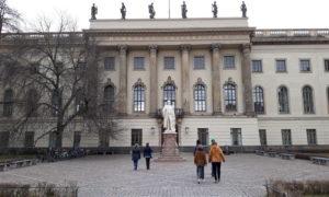 La Umboldt Universität di Berlino