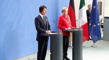 Conte - Merkel © il Deutsch-Italia