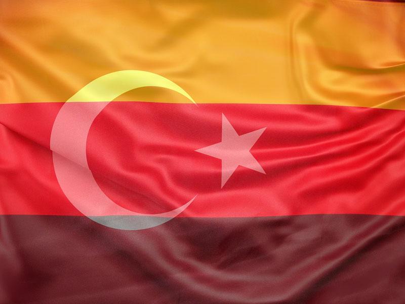 Bandiera turco-tedesca