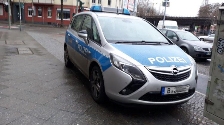 Polizia a Berlino © il Deutsch-Italia