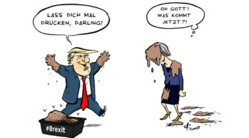 Trump - May © Paolo Calleri