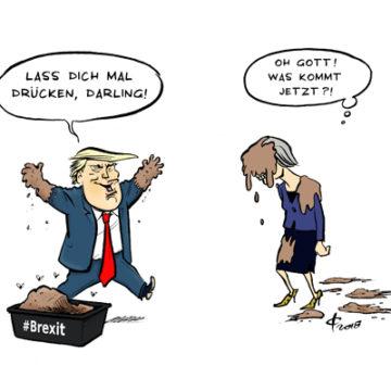 Trump - May © Paolo Calleri