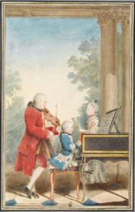 La famiglia Mozart - Louis de Carmontelle