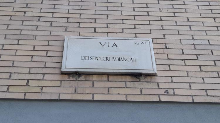 Via dei sepolcri imbiancati © il Deutsch-Italia