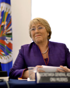 Il commissario Onu Michelle Bachelet © CC BY-SA 2.0 OEA-OAS Juan Manuel Herrera Flickr