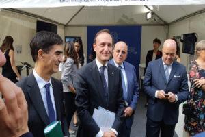 Il Sottosegretario Guglielmo Picchi e il Primo ministro Gaudiano Bürgerfest 2018© il deutsch-italia