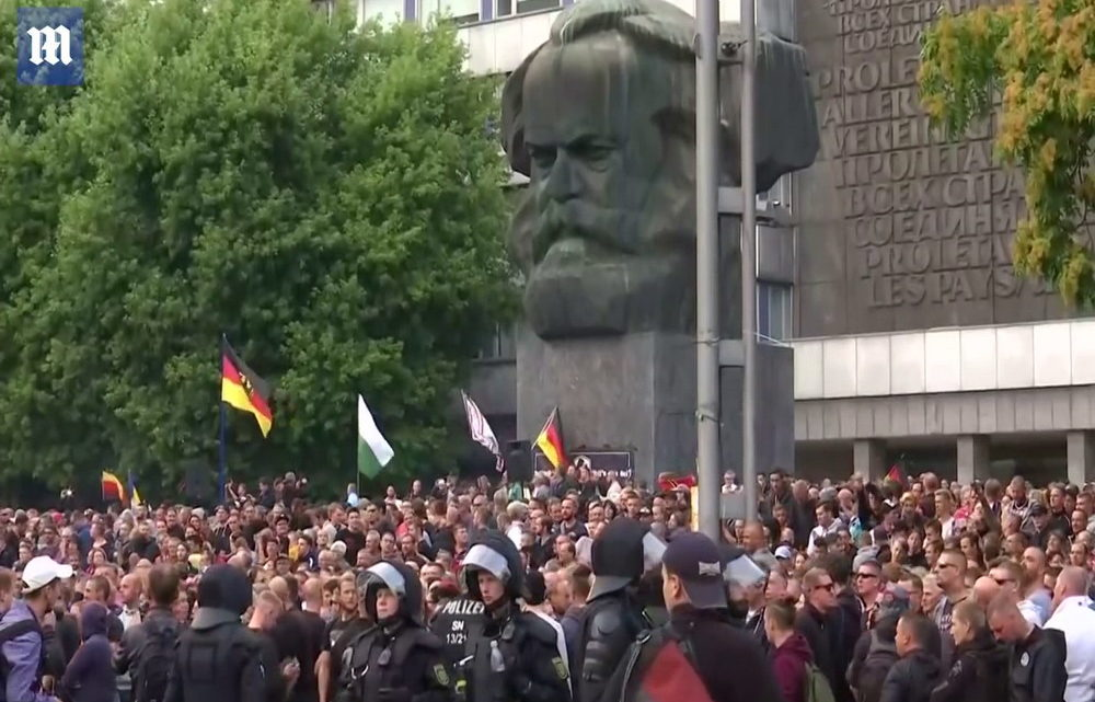Chemnitz© youtube daily mail