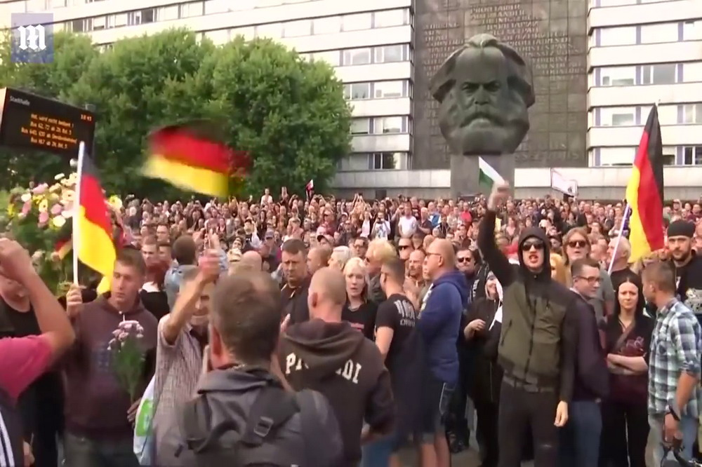 chemnitz 13 © youtube daily mail