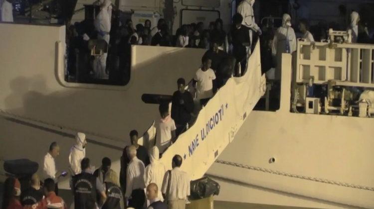 La nave Diciotti © youtube euronews