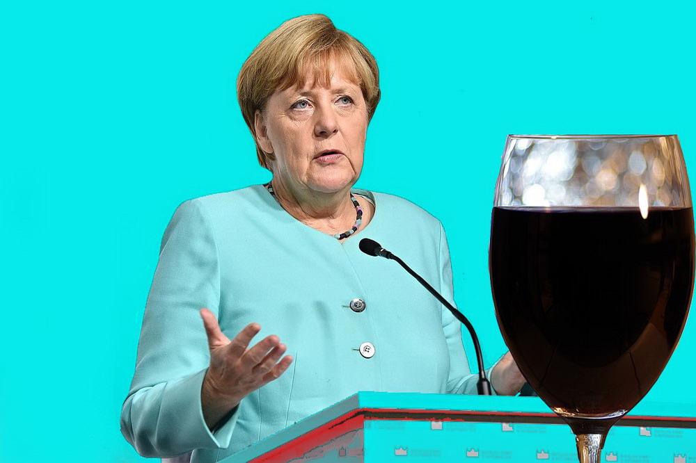 Il calice amaro della Merkel © il Deutsch-Italia