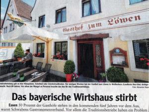 """Il """"Landsberger-Tageblatt"""""""