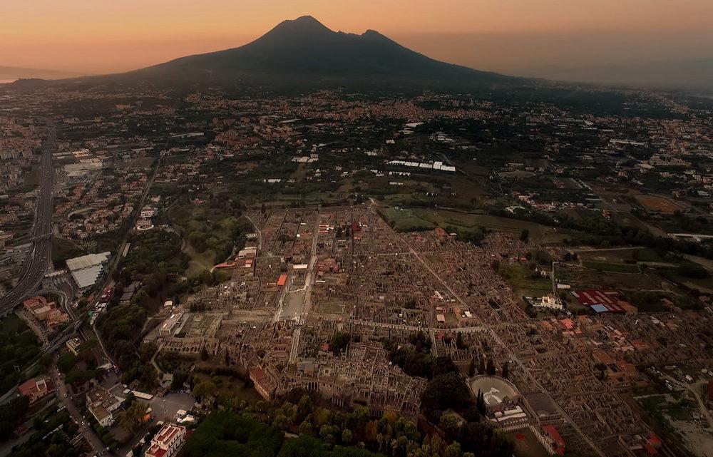Panoramica di Pompei