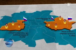 I russi di Berlino oggi © Youtube Galileo