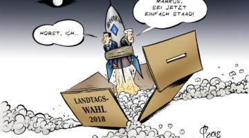 Landtagswahl in Bayern. Elezioni in Baviera. © Paolo Calleri