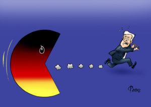 Zwei Drittel der Deutschen wünschen Rücktritt Seehofers. Due terzi dei tedeschi vogliono le dimissioni di Seehofer.