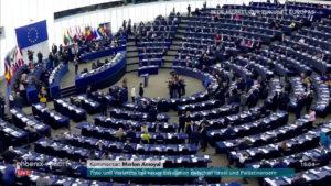 Merkel al Parlamento Europeo © Youtube Phoenix