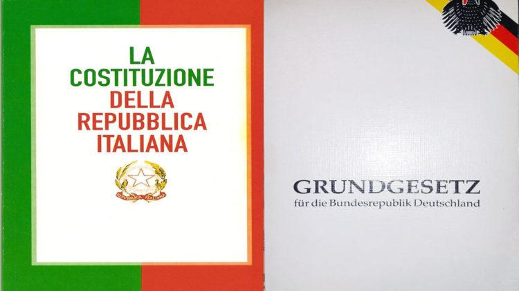 Le costituzioni italiana e tedesca © il Deutsch-Italia