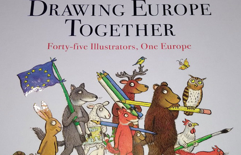 Drowing Europa together © Moritz Verlag