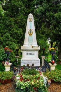 La tomba di Beethoven a Vienna