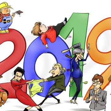 Frohes neues Jahr 2019 - Felice 2019