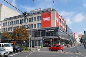 Il palazzo di Karstadt ad Hermannplatz