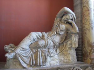 Ariadne dormiente - Musei Vaticani © CC BY-SA 3.0 Wknight94 WC