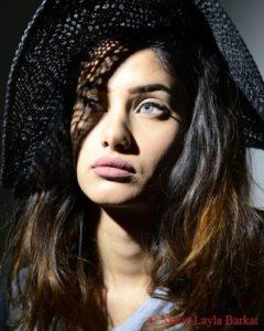 Bill Kaulitz con la make-up artist Natalie Franz © Layla Barkat