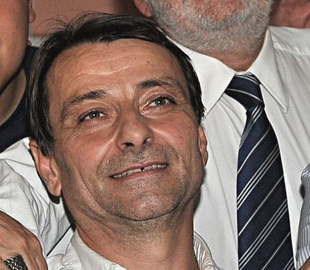 Cesare Battisti nel 2009 © CC BY-SA 3.0 José CruzABr Agência Brasil WC
