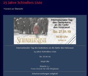 Schindler' s List © Cinexx.de