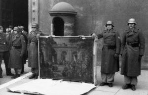 Soldati-tedeschi-della-divisione-H-Göring-davanti-Palazzo-Venezia-con-un-quadro-preso-nel-Museo-nazionale-di-Napoli-©-Bundesarkiv-B-101I-729-0001-23-Meister-©-CC-BY-SA-3.0