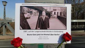 In ricordo di Bruno Ganz © il Deutsch-Italia