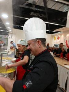 Ersilio Montella show cooking Biofach 2019 © Nicoletta De Rossi