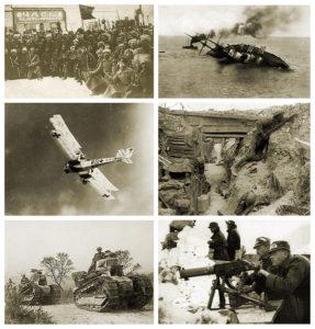Immagini della Prima Guerra Mondiale © Wikipedia