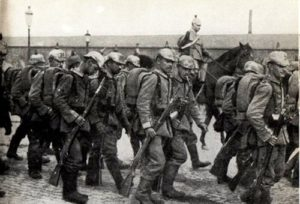 Truppe tedesche agosto 1914 © Wikipedia