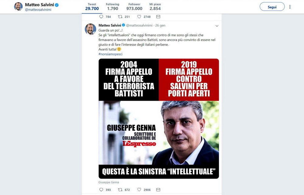 © Twitter Matteo Salvini